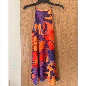 Tropical forever 21 shift dress